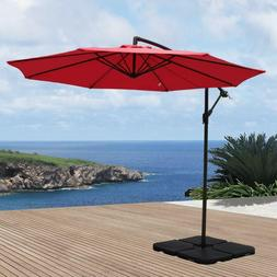 10 patio cantilever offset market hanging outdoor
