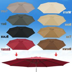 10ft Patio Umbrella Cover Canopy 8 Rib Replacement Top Outdo