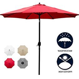 Sunnyglade 11Ft Patio Umbrella Garden Canopy Outdoor Table M