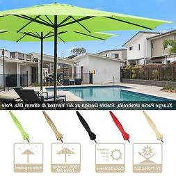 13 ft sun shade patio aluminum umbrella