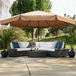 Best Choice Products 16ft Extra-Large Outdoor Patio Market U
