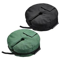 """18"""" Round Weight Sand Bag for Outdoor Umbrella Base Stand Pa"""
