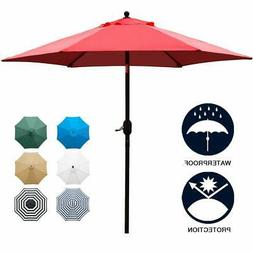 Sunnyglade 7.5' Patio Umbrella Outdoor Table Market Umbrella