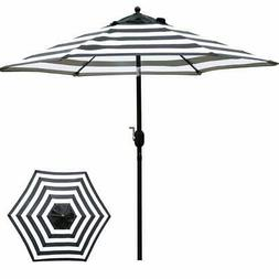 Sunnyglade 7.5' Patio Umbrella Outdoor Table Market  with Pu