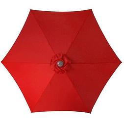 Le Papillon 9 Ft 6 Ribs Patio Umbrella Replacement Top Cover