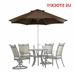 9 ft Beach <font><b>Umbrella</b></font> Outdoor <font><b>Pat