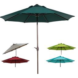Abba Patio 9 FT Patio Umbrella Outdoor Market Umbrella with