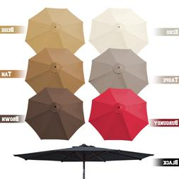 9ft 8 Rib Patio Umbrella Cover Canopy Replacement Parasol To