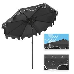 9ft Patio Sun Shade Market Table Outdoor Deck Umbrella Repla