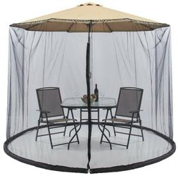 Best Choice Products 9ft Patio Umbrella Bug Screen w/ Zipper