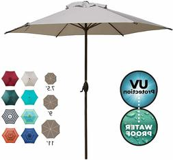 Abba Patio 9ft Patio Umbrella Outdoor Umbrella Patio Market