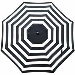 Sunnyglade 9Ft Patio Umbrella Replacemen Canopy Market Umbre