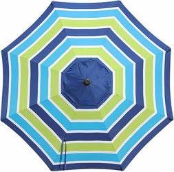 Blissun 9ft Patio Umbrella Replacement Canopy, Market Table
