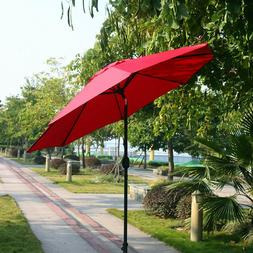 9ft patio with 8 sturdy ribs umbrella