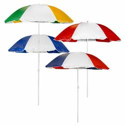 Beach Umbrella Lg 6 ft .Sun Shade Patio Little Tykes Table +