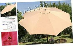 bellrino replacement umbrella canopy for 9ft 8