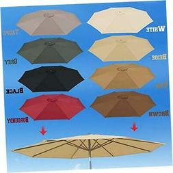 BenefitUSA UC-12 Canopy 10ft 8 Rib Patio Replacement Top Out