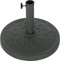 Trademark Innovations Decorative Resin Umbrella Base, 17.5-I