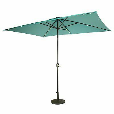 Trademark Innovations ft. Steel Patio Umbrella with LED Light