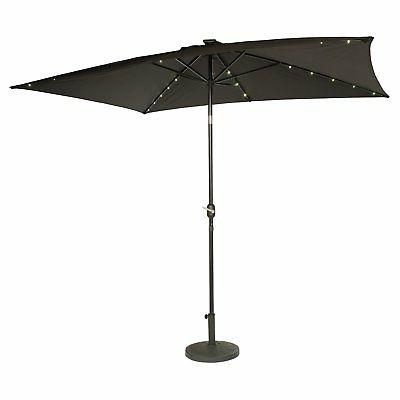 Trademark Steel Umbrella LED Light