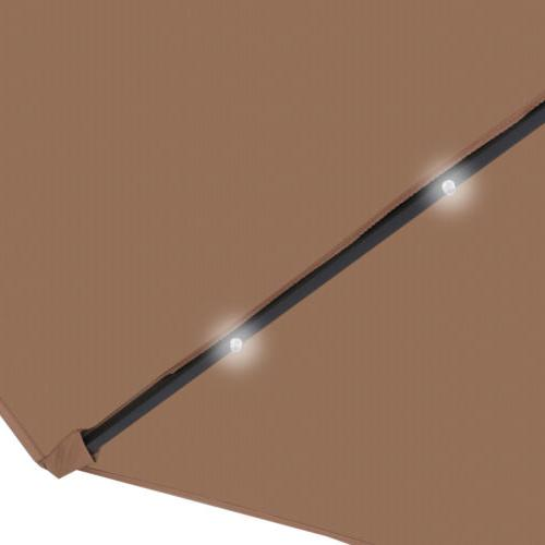 10FT Deluxe LED Lights W/ Tilt Adjustment Tan