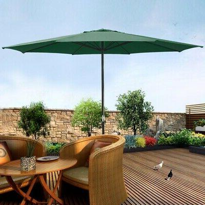13' FT Sun Shade Patio Umbrella Outdoor Market Garden Deck
