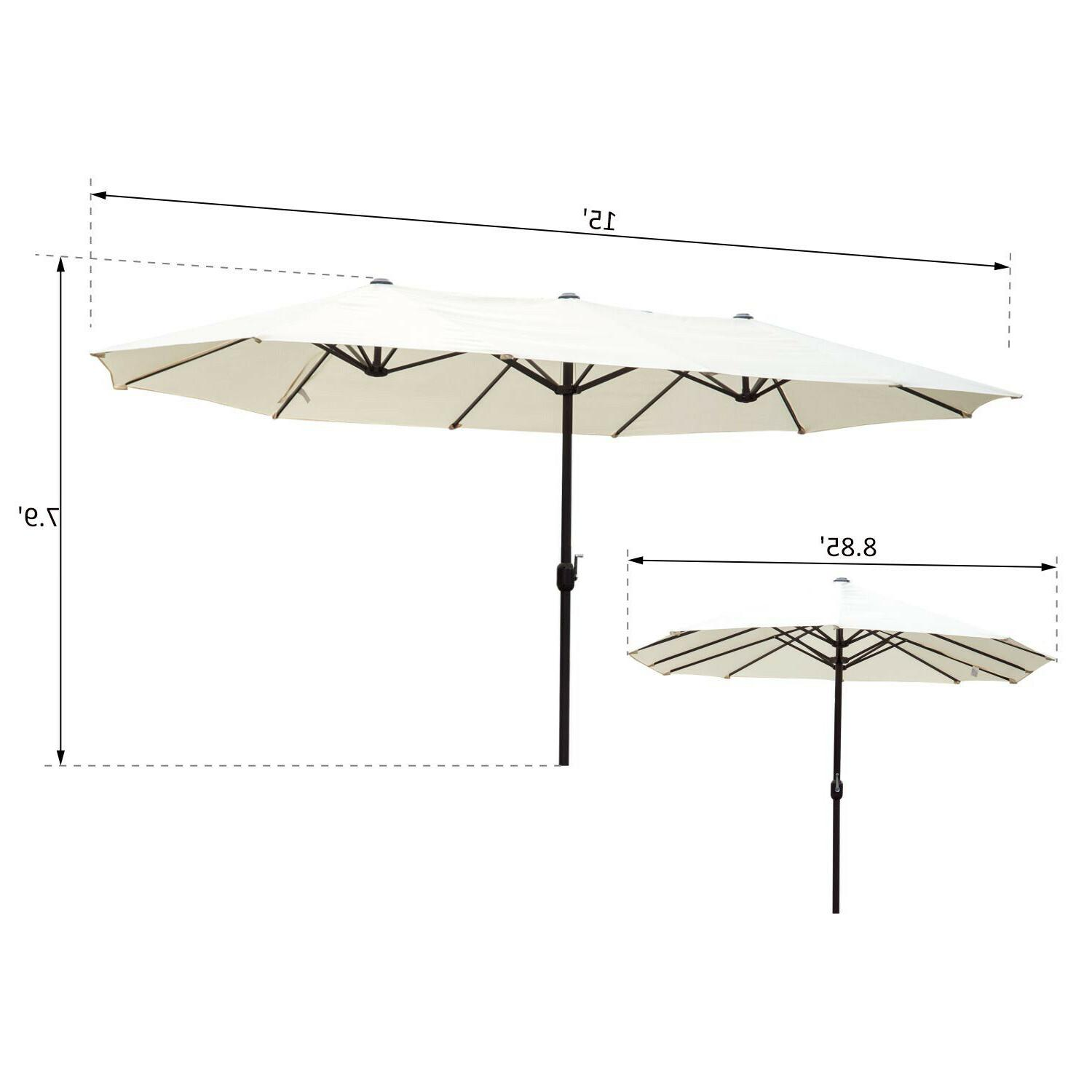 15' Double-Sided Shade