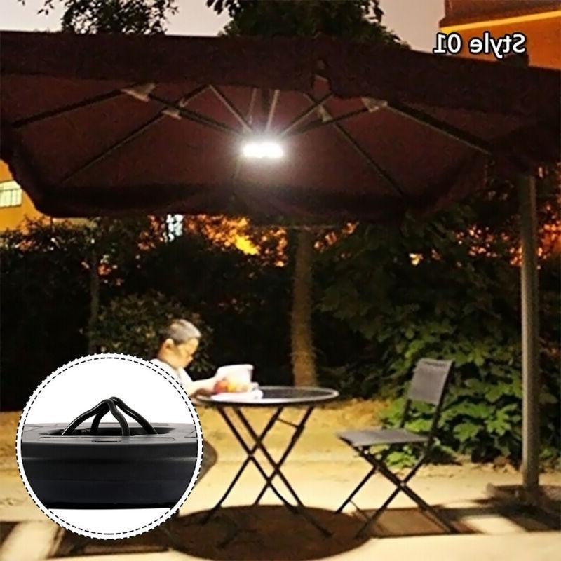 28 Parasol Patio Umbrella Light Mode Tent Light