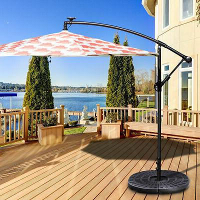 Patio Umbrella Base Stand Weights Base 4 Plate