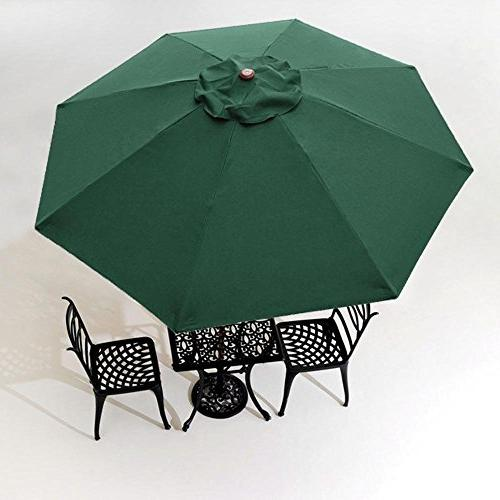 8 ribs umbrella canopy replacement
