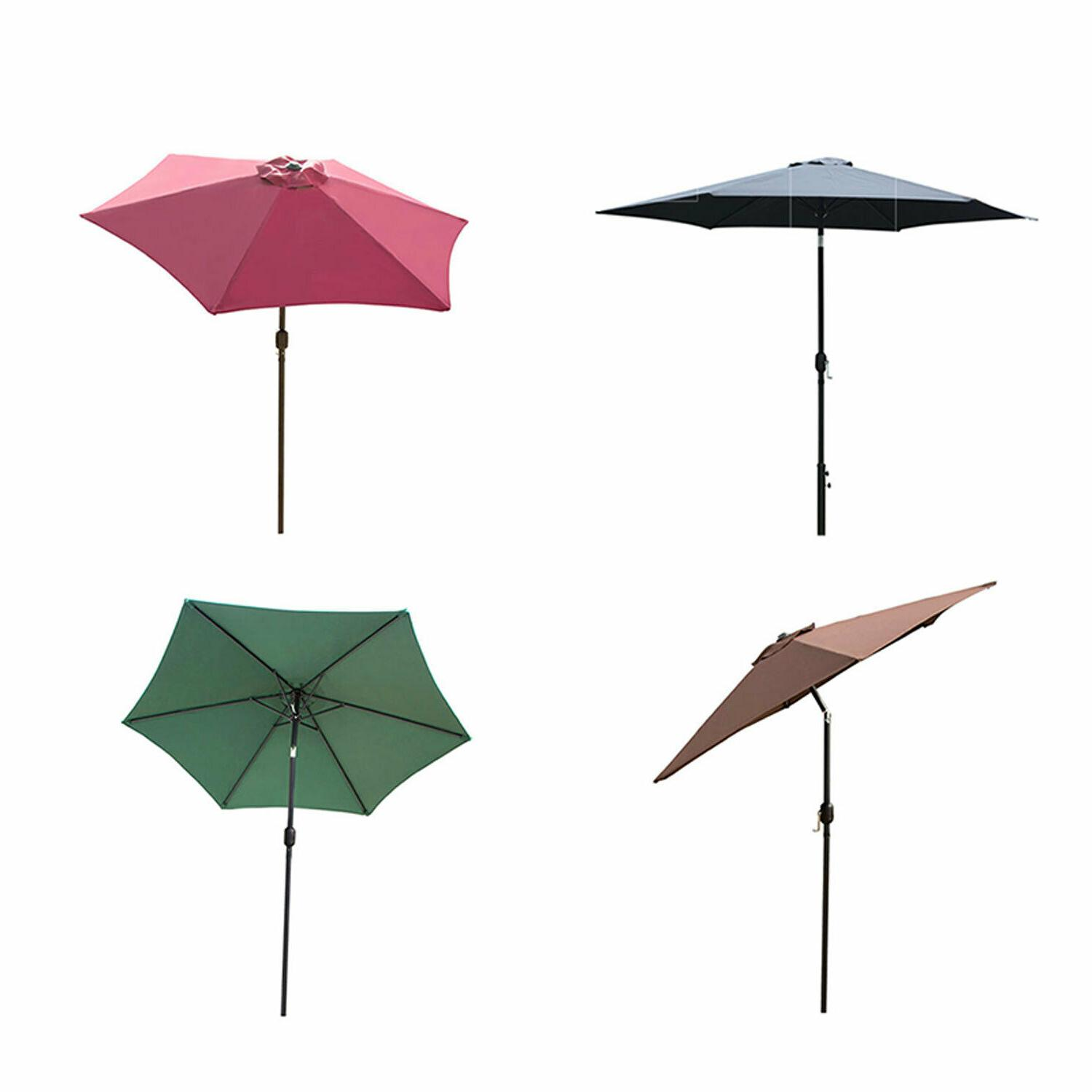 8ft 9ft 10ft outdoor patio umbrella market