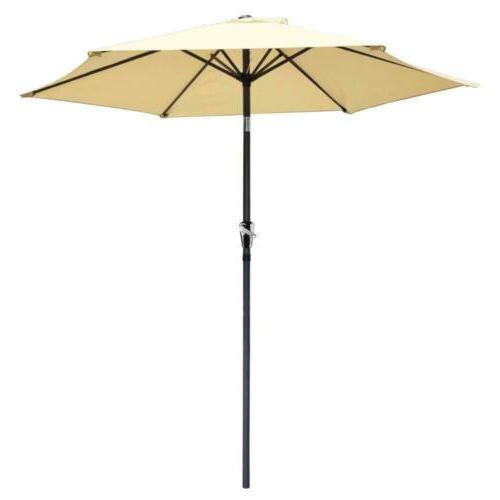 Yescom 8ft Patio Beige Tilt