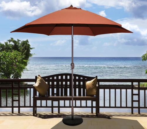 Tropishade ft Aluminum Patio Rust Polyester Cover