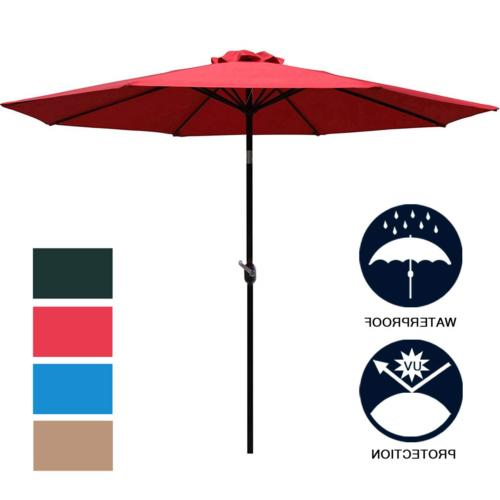 9 patio umbrella outdoor table umbrella