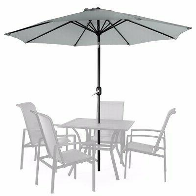 9ft patio umbrella outdoor parasol market w