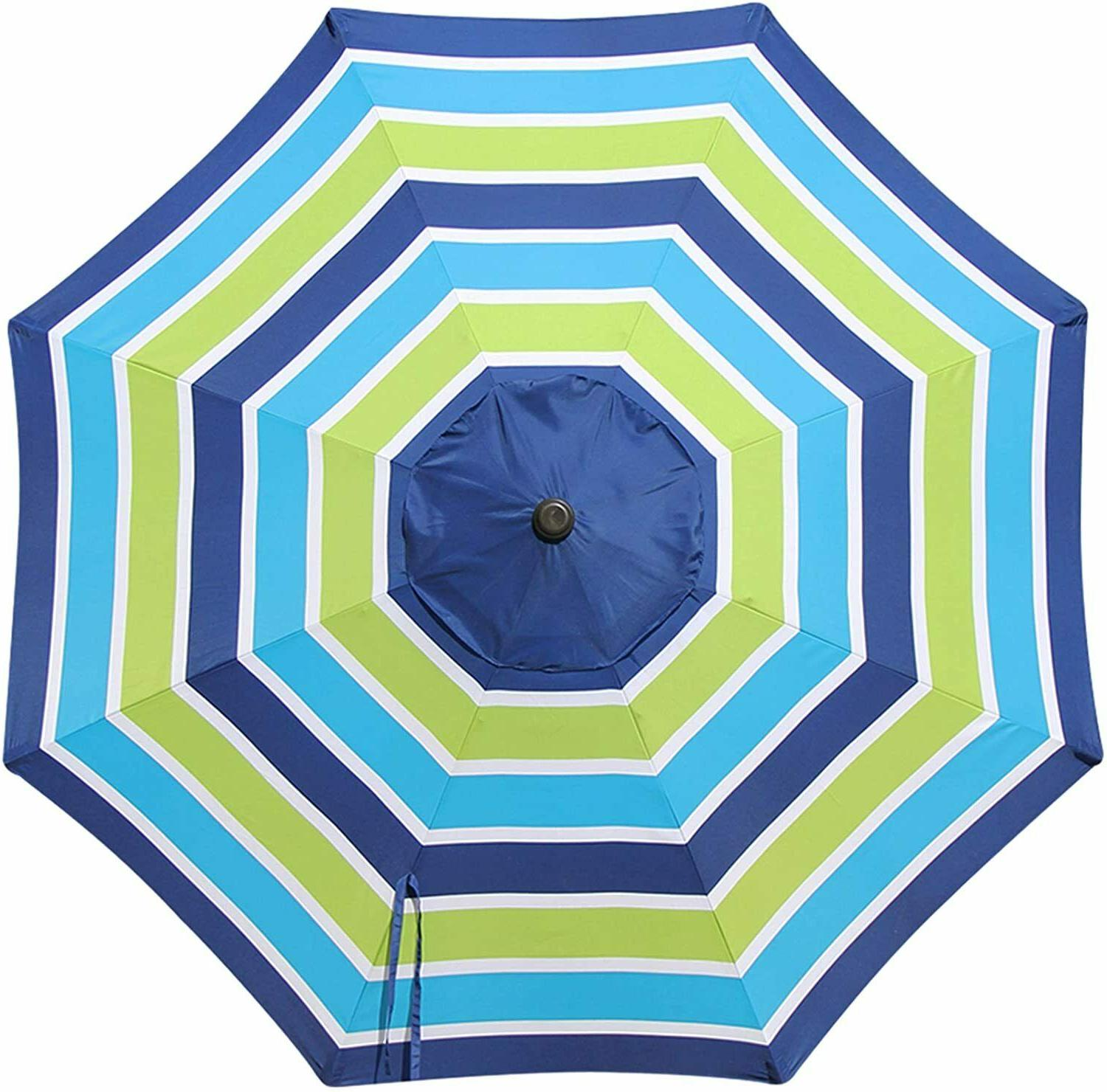 9ft patio umbrella replacement canopy market table