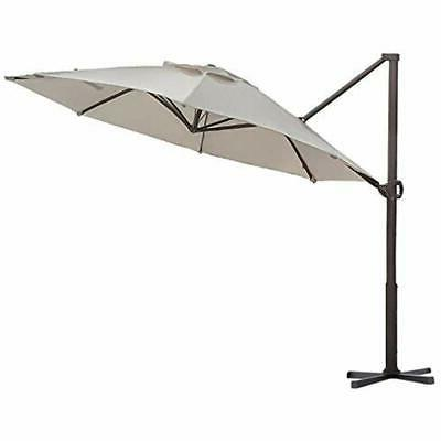 abba patio umbrellas offset cantilever 11 feet