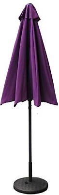 VMI 9-Feet Adjustable Patio Umbrella with Aluminum Pole, Pur