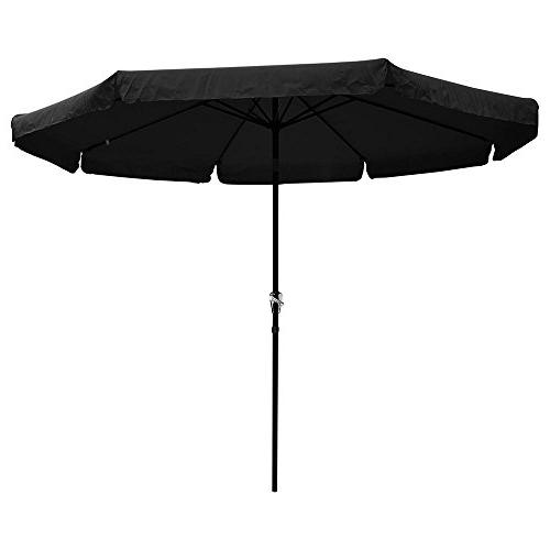 aluminum patio umbrella w valance