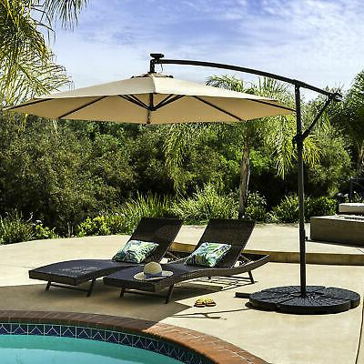 BCP 4-Piece Cantilever Patio Base Stand w/