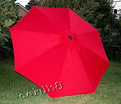 replacement red umbrella canopy