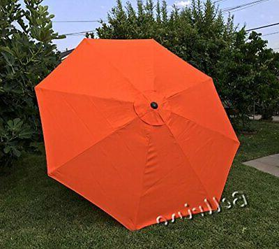 BELLRINO DECOR REPLACEMENT STRONG AND THICK UMBRELLA CANOPY