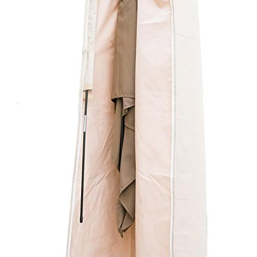 C-Hopetree Cantilever Protective Cover Suits 9 11 Hanging Water Repellent,