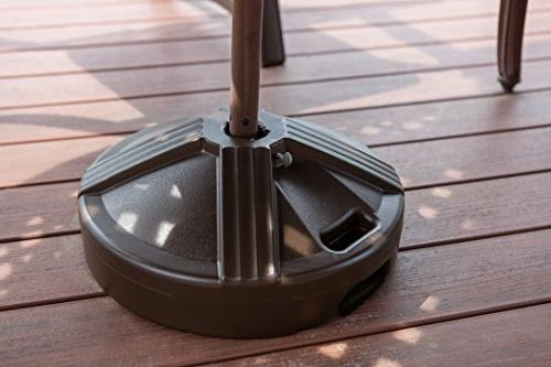 US Durable Fillable Umbrella Base Designed to be Used Patio