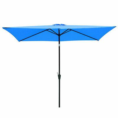 Durable Lawn Patio Sun Umbrella Canopy Fade Resistant