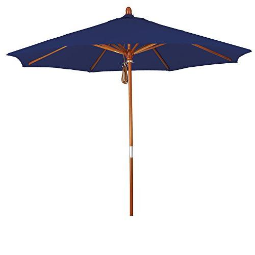 eclipse wood market umbrella pulley