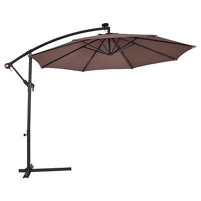 10' Umbrella Patio Offset Tan