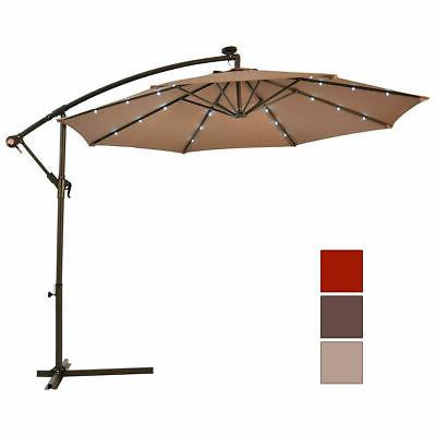 10' Hanging Umbrella Offset W/Base