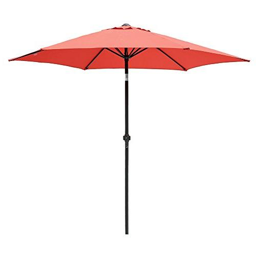 market patio umbrella aluminum