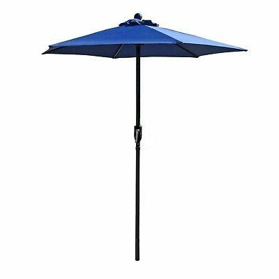 navy blue patio umbrella